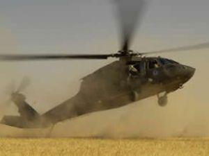 Suriyeli muhalifler, helikopter düşürdü