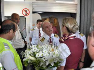 40 yıl sonra son uçuşunu gerçekleştirdi
