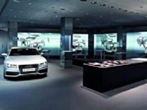 Audi'nin sanal versiyonları sergileniyor