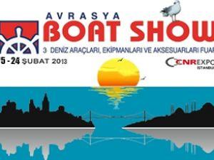 Avrasya Boat Show 2013'te CNR'de