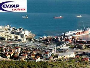 EVYAP Limanı Busbar vinç alıyor