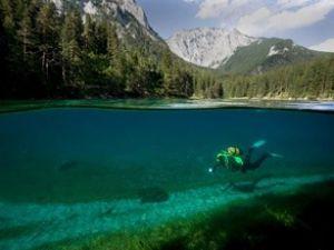 Bu gölün dünyada başka eşi benzeri yok