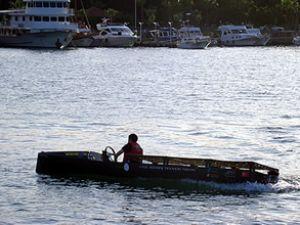 Güneş enerjili tekne projesine destek