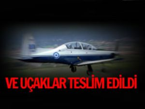 Eğitiminde kullanılacak uçaklar Samsunda