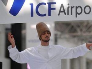 Antalya Havalimanı'nda sema gösterisi