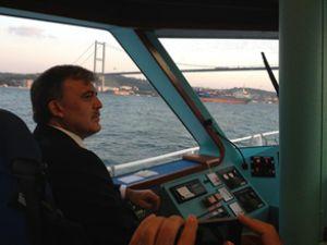 Gül'de 'deniz yolunu kullanın' dedi