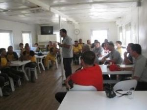 Asyaport personeline yangın eğitimi