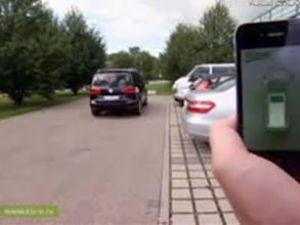 Araçlar cep telefonuyla park edilecek