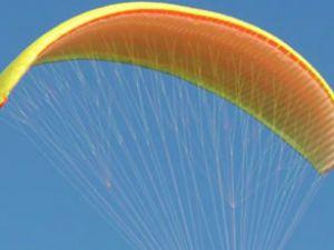 Kayseri'de paraşüt pilotu ağır yaralandı