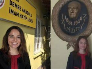 İmam Hatip Lisesi'ne kadın müdür atandı