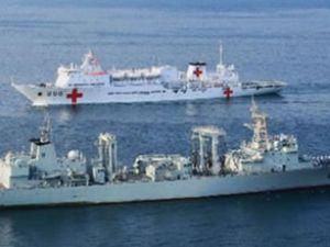 Boğaz'dan Çin savaş gemisi geçti