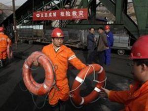 Çin'de tüneli su bastı: 450 işçi mahsur