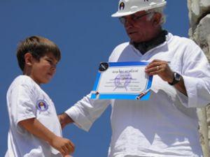 İÇDAŞ Yelken Okulu öğrencilerine sertifika