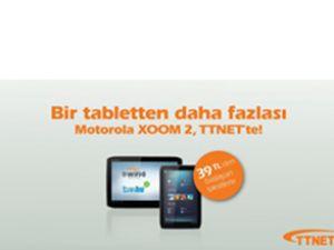Motorola Xoom 2 tablet TTNET'te