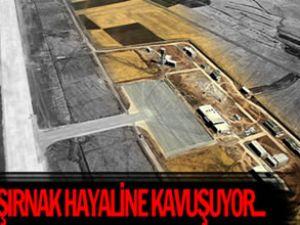 Şırnak Havaalanı'nda hasret sona eriyor