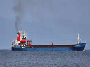 Ürdün'de Türk gemisi kundaklandı