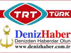 """""""DENİZHABER"""" TRT Türk'te başlıyor"""