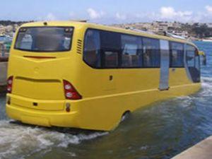 Karada ve suda giden otobüsler alınacak