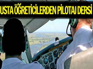 Uçuş okullarında medrese usulü eğitim