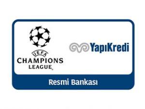 Yapı Kredi Şampiyonlar Ligi'ne sponsor oldu