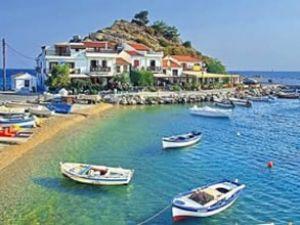 Yunan adalarına Türkiye'den ilgi yoğun