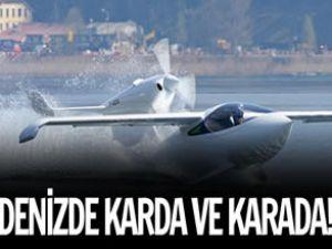 Suda ve karada gidebilen uçak üretildi