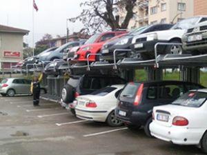 Bursa'da mekanik otopark hizmete girdi