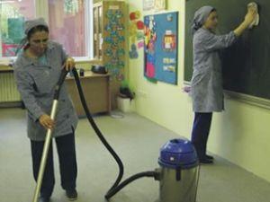 1206 okula 2000 temizlik elemanı