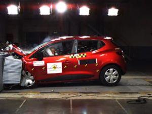Yeni Clio'ya EuroNCAP'ten beş yıldız