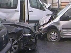 Diyarbakır'da 60 araç birbirine girdi