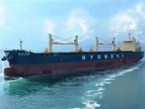 Hyundai Pacific Pride gemisini teslim aldı