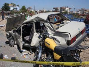 Antalya'da kaza: 1 ölü, 8 yaralı
