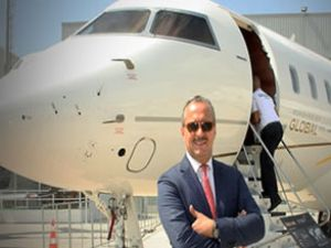 Airex 2012'de Global 6000 jetini tanıttı