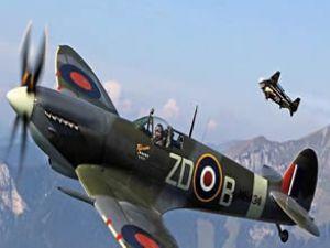 Jet adam bu kez İsviçre semalarında tur attı