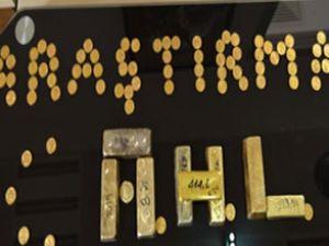 AHL'da yolcu yaklaşık 8 kg altınla yakalandı
