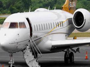 Tam ölçekli bombardier Münih Airport'ta