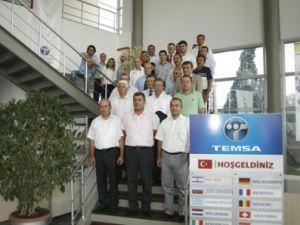 Temsa yetkili servisleri Adana'da buluştu