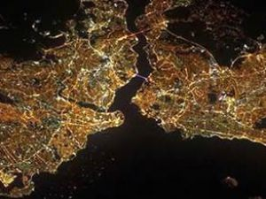 NASA İstanbul'un fotoğrafını yayınladı