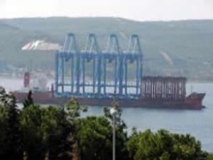 Ambarlı Limanı'na 12 vinç daha geliyor