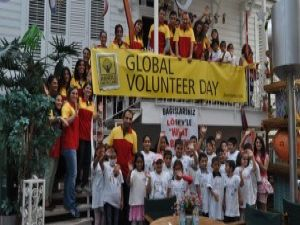 DHL'in Küresel Gönüllülük Günü kutlandı