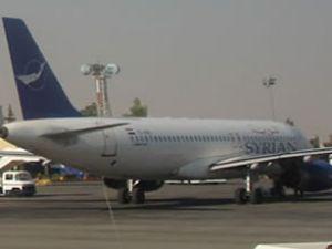 Suriye uçağı askeri havaalanında yüklenmiş!