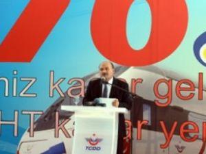 TCDD'nin 156′ncı kuruluş yıl dönümü kutladı