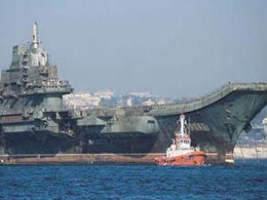 Varyag uçak gemisi donanmaya katıldı