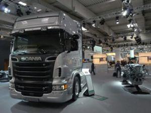 Scania'nın alternatif yakıtlı Euro 6 motoru tanıtıldı