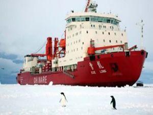 Çin 'soğuk denizler'e çıktı