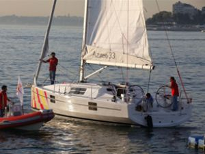 Sirena Marina'dan yelken sporuna destek