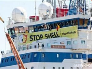 Shell ve Greenpeace Kutup savaşına girdi