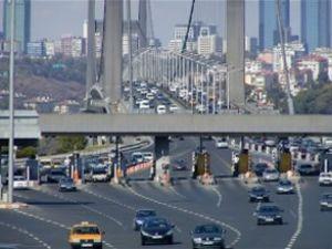 Köprü ve otoyol geliri 672 milyon lirayı aştı