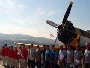 Yangın söndürme uçakları görevini tamamladı