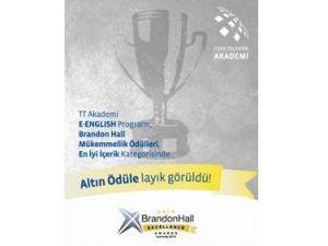 TT Akademi'ye Brandon Hall'den Altın Ödül